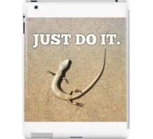 Just do it  iPad Case/Skin