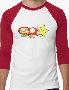 Power ups! Men's Baseball ¾ T-Shirt