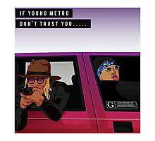 Young Metro Shirt Photographic Print