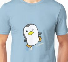 Skating Penguin Unisex T-Shirt