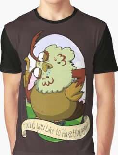 Would you like to hurrrr that again...? Graphic T-Shirt