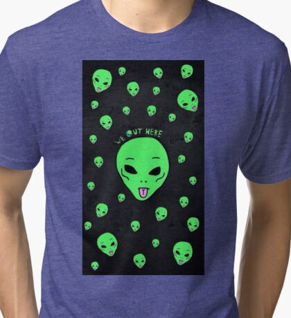 We Out Here Tri-blend T-Shirt