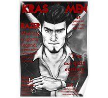 Razer Cover Kras Men Magazine Poster