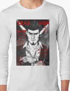 Razer Cover Kras Men Magazine Long Sleeve T-Shirt