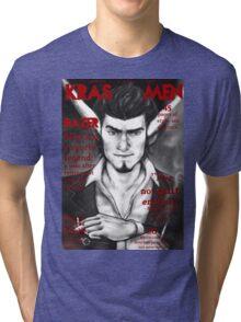 Razer Cover Kras Men Magazine Tri-blend T-Shirt