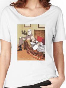 Freud analysing Shakespeare Women's Relaxed Fit T-Shirt