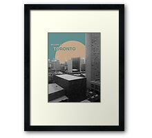 Welcome to Toronto! Framed Print