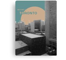 Welcome to Toronto! Canvas Print