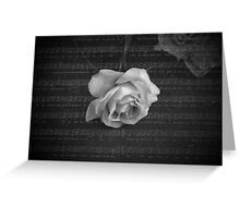 Song of the Rose Greeting Card