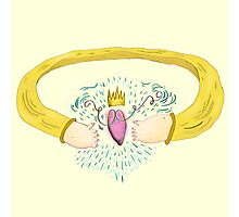 Claddagh Ring Photographic Print