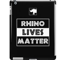 Rhino Lives Matter iPad Case/Skin