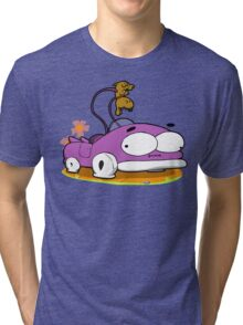 Prut prut the car Tri-blend T-Shirt