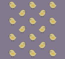 Busy Chicks - Aqua Kids Tee