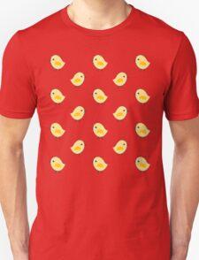 Busy Chicks - Aqua Unisex T-Shirt