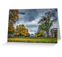 October at The University of Virginia Greeting Card