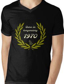 Legendary 1970  Mens V-Neck T-Shirt