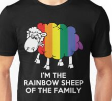 I'm The Rainbow Sheep Of The Family Unisex T-Shirt