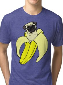 banana pug Tri-blend T-Shirt