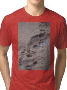 Sandy Tracks Tri-blend T-Shirt