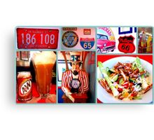 OK Diner Experience Canvas Print