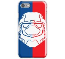 Halo Master Chief - Red V Blue iPhone Case/Skin