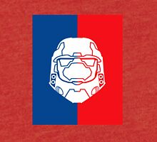 Halo Master Chief - Red V Blue Tri-blend T-Shirt