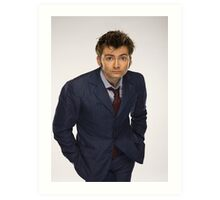 The Tenth Doctor - 4 Art Print