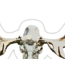 Moose skull Sticker