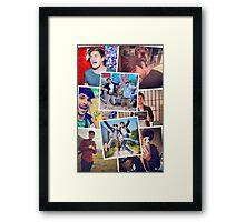 Smosh Framed Print