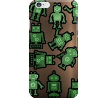 Lost robots Fiction Futuristic Graphic T-shirt iPhone Case/Skin
