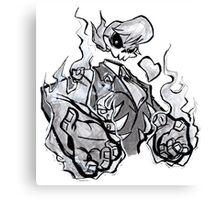 Vengeful Ghost Canvas Print