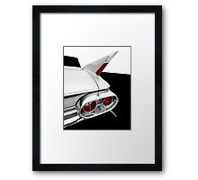 1961 Cadillac Tail Fin detail Framed Print