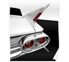 1961 Cadillac Tail Fin detail Poster