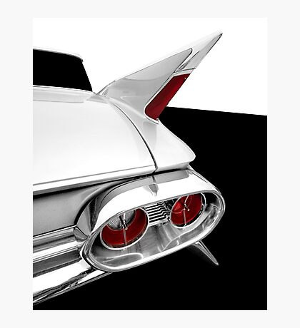 1961 Cadillac Tail Fin detail Photographic Print
