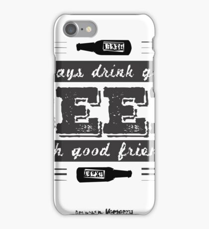 Beer T Shirt iPhone Case/Skin