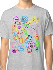 Poorly Drawn Pokemon Classic T-Shirt
