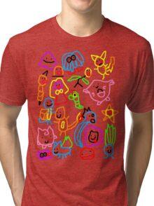 Poorly Drawn Pokemon Tri-blend T-Shirt