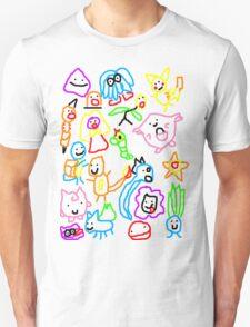 Poorly Drawn Pokemon Unisex T-Shirt