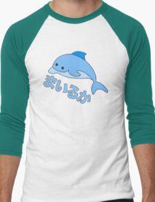 dolphin anime Men's Baseball ¾ T-Shirt