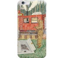 Aunt Maizie's Train Caboose iPhone Case/Skin