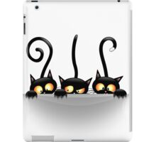 Three Naughty Playful Kitties iPad Case/Skin