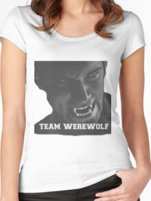Team wolf Women's Fitted Scoop T-Shirt