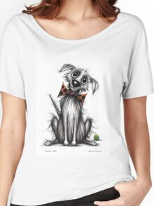 Funky dog Women's Relaxed Fit T-Shirt