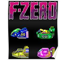 F-Zero (SNES) Poster
