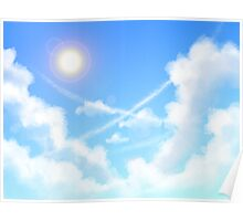 Day Sky Poster