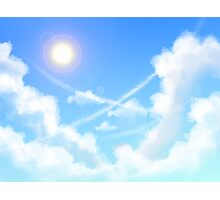 Day Sky Photographic Print