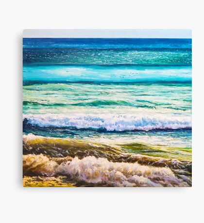Shades of the sea Canvas Print