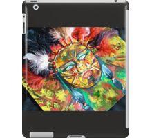 Native American style mixed media painting iPad Case/Skin