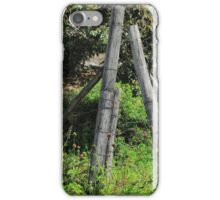 Barb Wire Fence iPhone Case/Skin