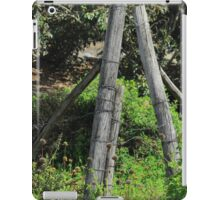 Barb Wire Fence iPad Case/Skin
